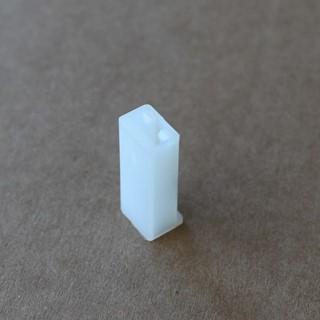 Bild von Flachsteckgehäuse 1-polig männl.